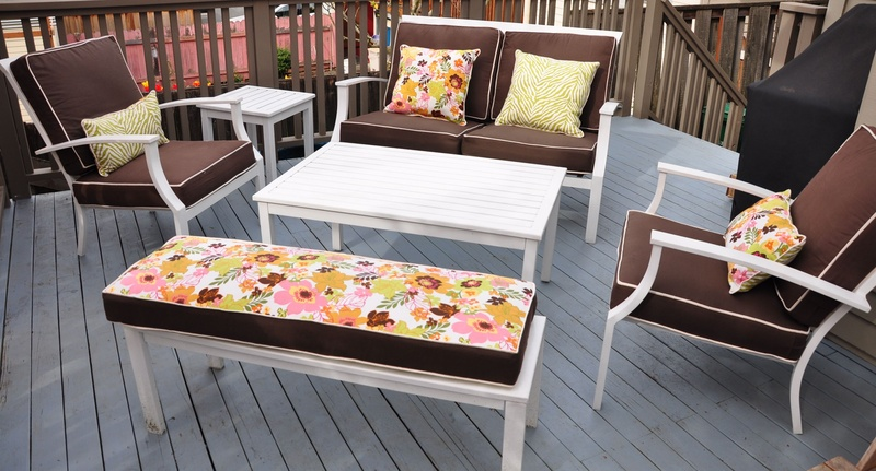 Deck Furniture Recovered